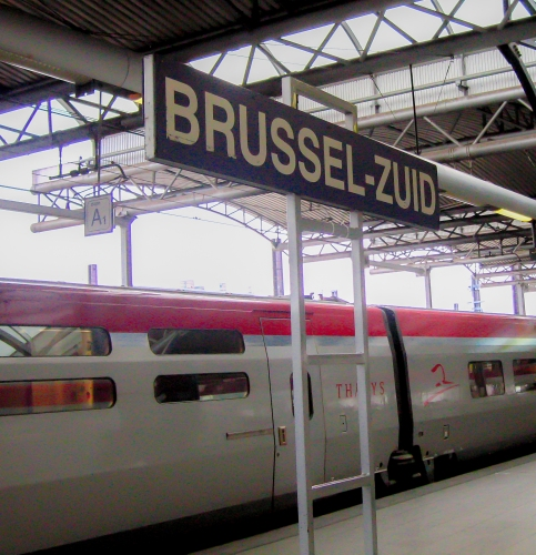 South Brussels Train Station