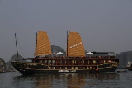"Our Halong Bay ""Mother Ship"" for the weekend"