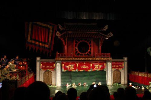 Thang Long Water Puppet Theatre, Hanoi, Vietnam