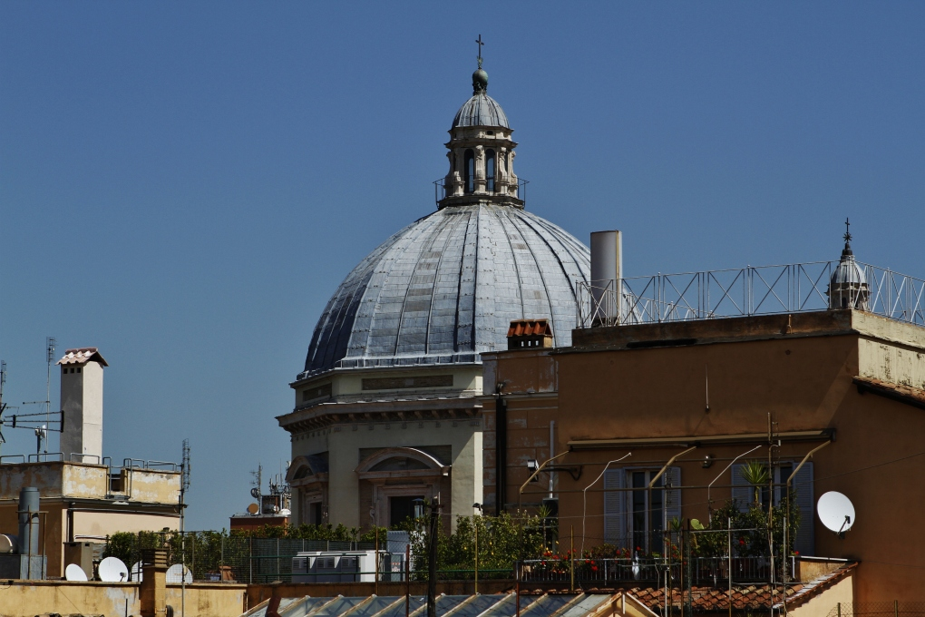 The Dome of Santa Maria Maggiore, Rome