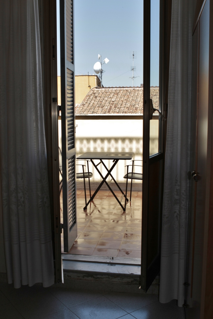 A Little Balcony with an Incredible View, My deck from my convent room at Suore Elizabetta, Rome, Italy