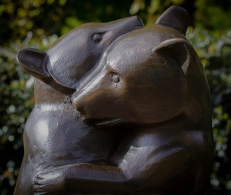 A Warm Embrace Teddy Bear Fountain in Hyde Park