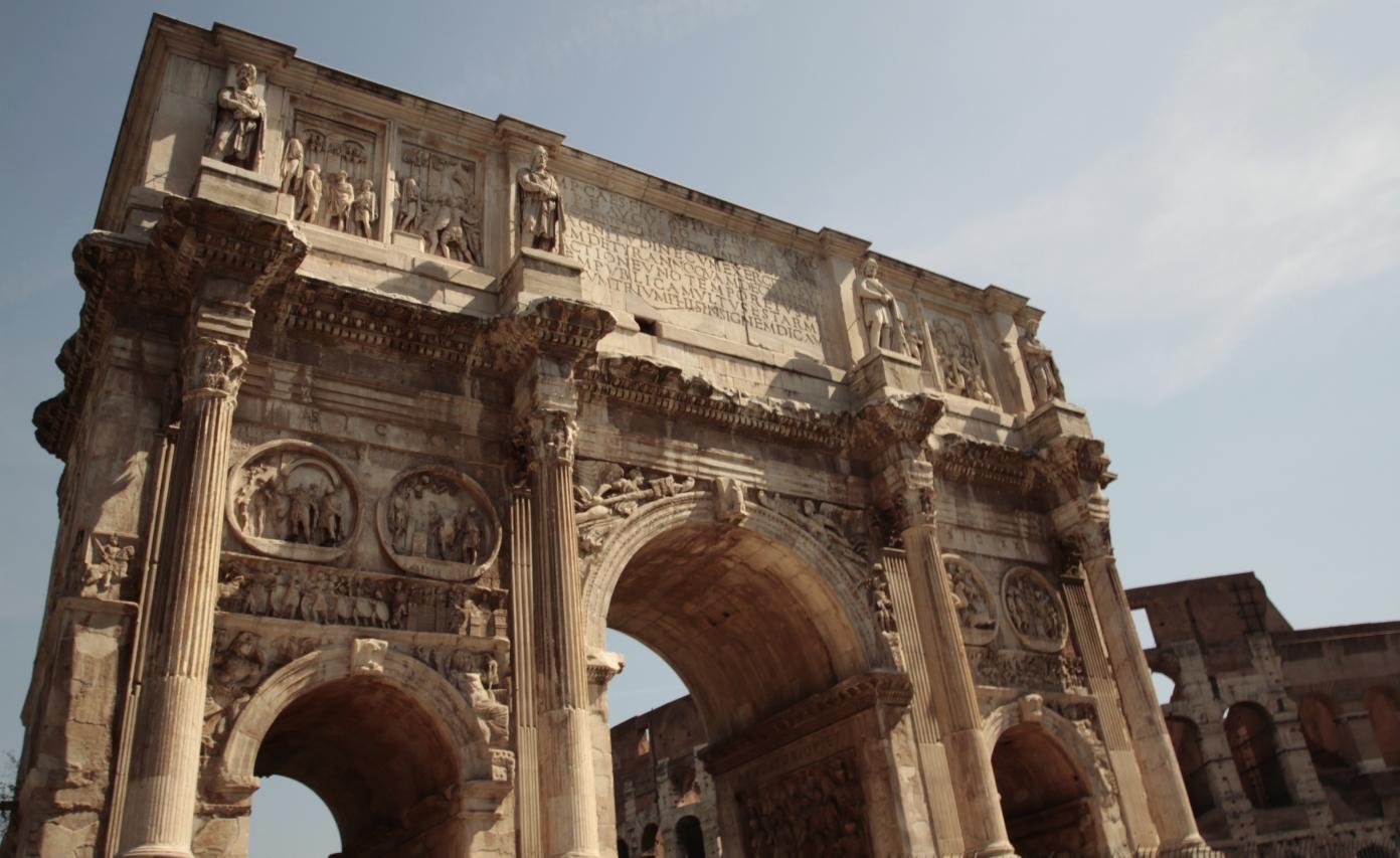 Arco di Constantino, Rome, Italy