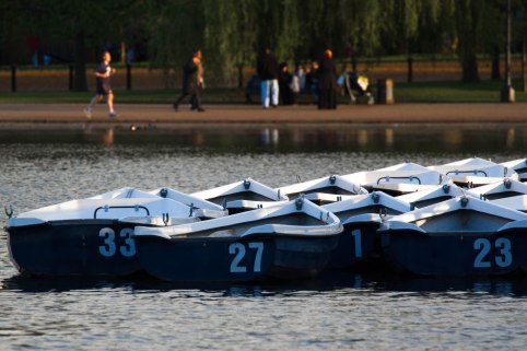 Evening Sun - Hyde Park