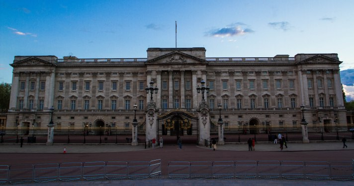 Evening Light at Buckingham Palace