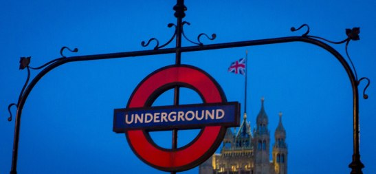 """Underground"" with Union Jack"