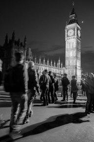 Westminster Night, B&W
