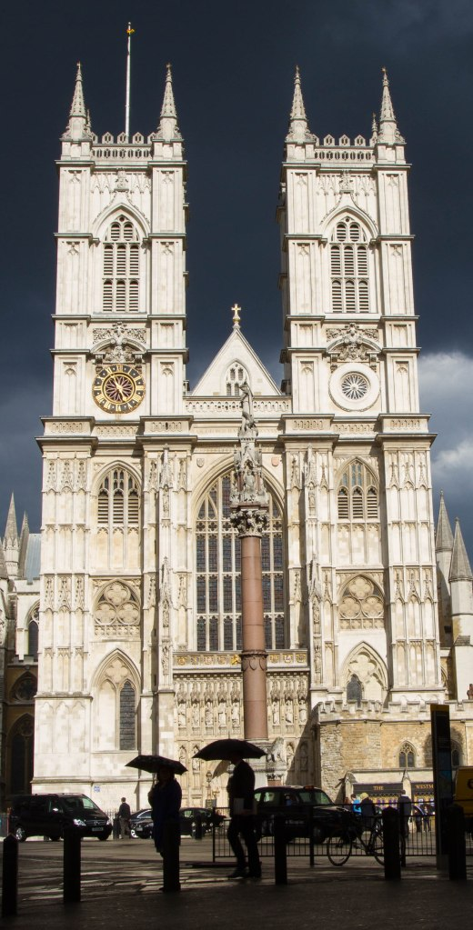 Westminster Abbey with Sunlight