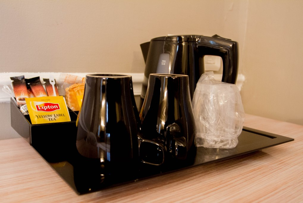 In-Room Coffee Always Appreciated