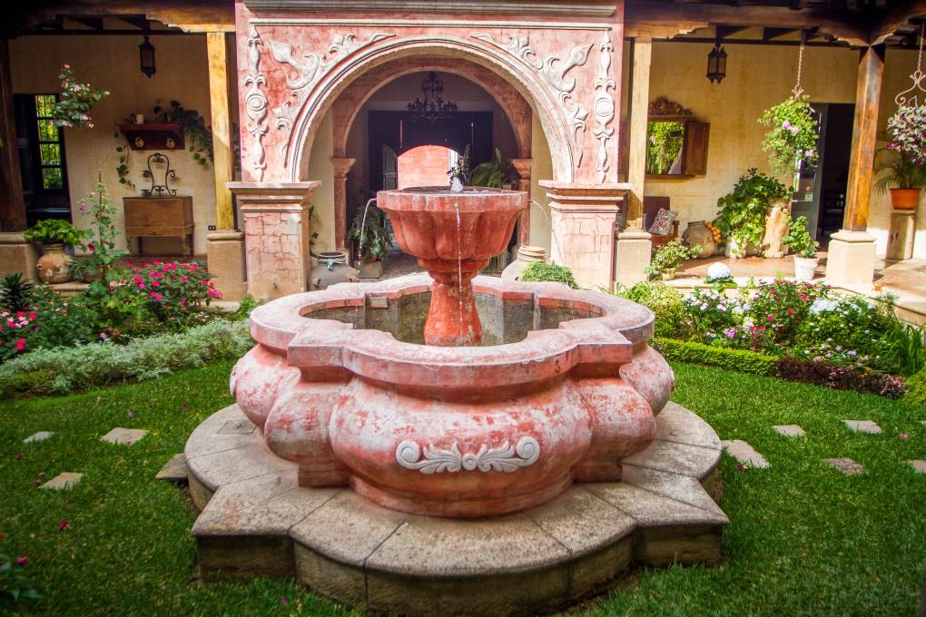 Courtyard Fountain, La Casona de Antigua