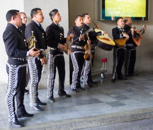 Mariachis - Guatemala City Airport