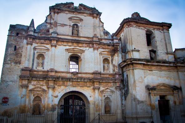 Iglesia de San Agustin, Antigua, Guatemala