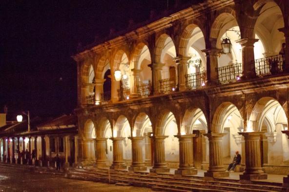 Palacio de Ayuntamiento, or City Hall, Antigua, Guatemala