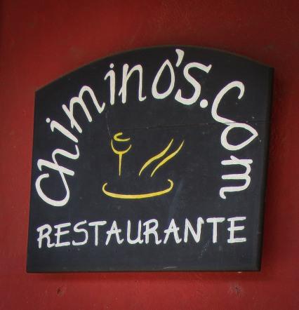 Chimino's Restaurante, Antigua, Guatemala