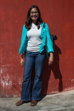 My daughter, Jacque, as we embark on our one full day in Antigua, Guatemala