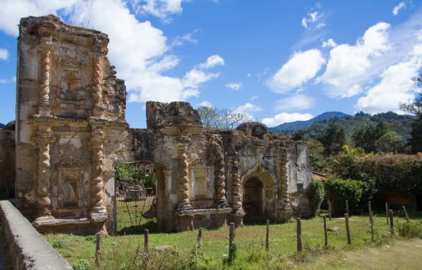 Yet more cathedral ruins in Antigua, Guatemala
