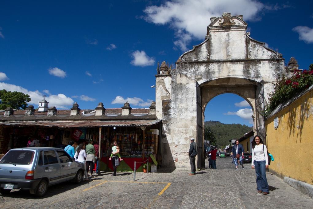 The Back Courtyard of Templo San Francisco El Grande