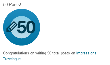 I've Reached 50 Blog Posts!