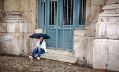 Rain, Paris