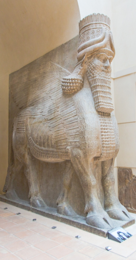 Cour Khorsabad, Musee du Louvre