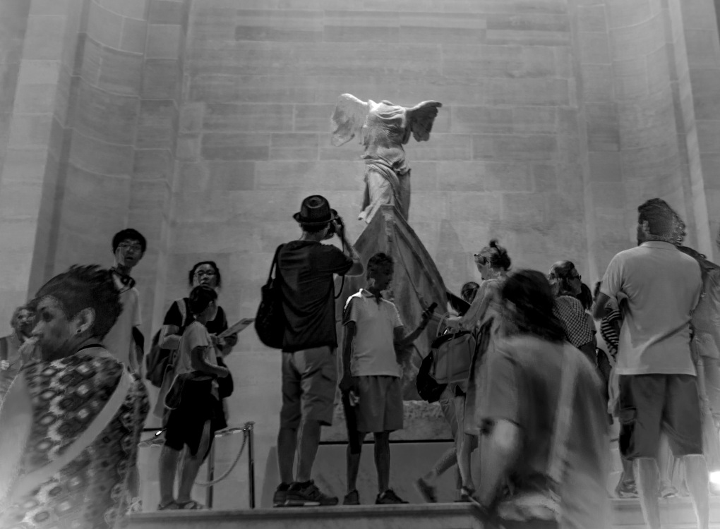 The Winged Victory of Samothrace, Louvre Museum