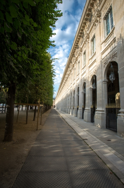 Paris, Jardin du Palais Royal