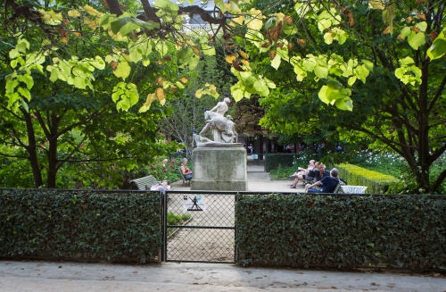 Jardin du Palais Royal, Paris - 1er Arrondissement
