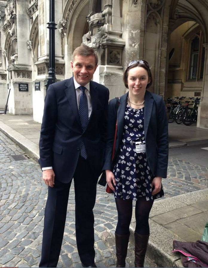 Lowri and Her MP_May 2013
