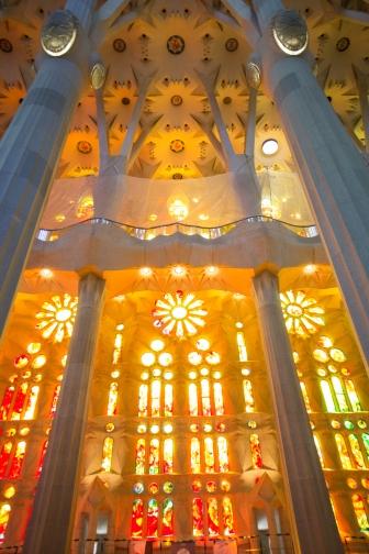 La Sagrada Familia Interior