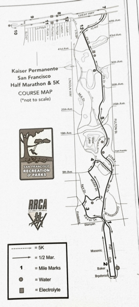 2016-02-14_Kaiser Permanente Half Marathon Course Map