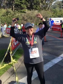 2016-02-14_KP SF Half Marathon Victory Stance